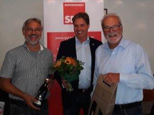 Bild von links nach rechts: Werner Nuber, Dieter Stauber und Norbert Zeller